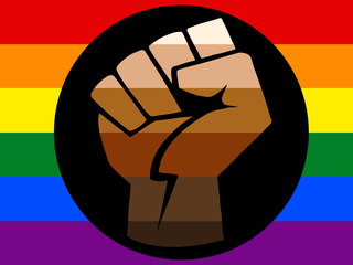 queer of color flag